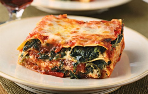 Vegan Spinach Lasagna | PubWages